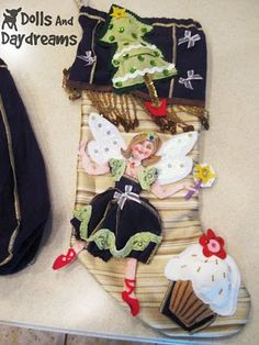 #Recycled #Craft Christmas Stocking!