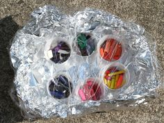 Upcycled Crayons...  This is a crayon oven!