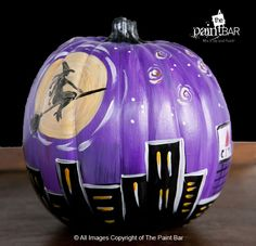 Paint Your Own Bewitched Pumpkin - Jackie Schon, The Paint Bar