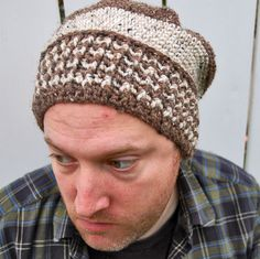 Crochet hat - ribbing technique could also be used to make a headband