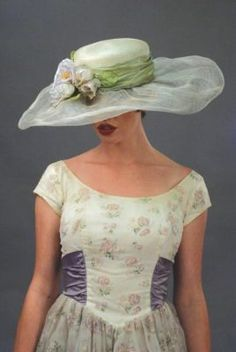 louise green garden society hat