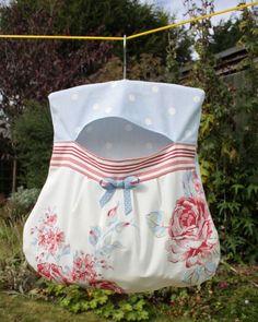 clothespin bag.