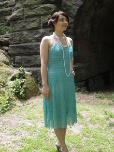 """Housewives On Fire original 1920s vintage inspired, flapper, Gatsby dress  """"Daisy"""" CUSTOM ORDER ONLY. $185.00, via Etsy."""
