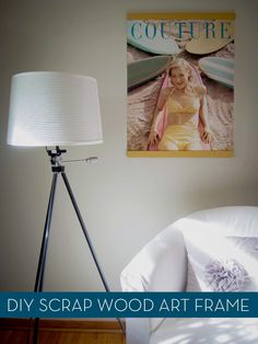 How to: Make a DIY Poster Hanger from Scrap Wood » Curbly   DIY Design Community