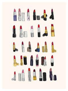 lipstick love..