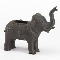 Incense-burner (elephant-shaped). Made of bronze. Mughal dynasty, 17th Century