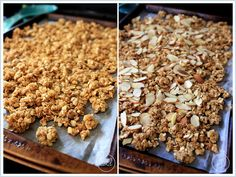 Easy Homemade Granola - ONLY COOK 10 MIN AT 350 DEGREES