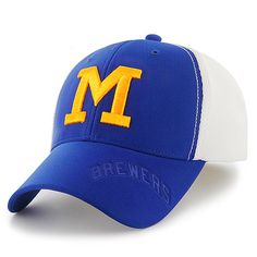 Bored of the navy and gold? Check out the blue and yellow! But really, don't the #Brewers look good in every color?
