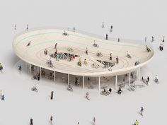 NL architects: bicycle club