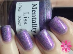 Mentality Nail Polish Lisa Swatch, Review, by Cosmetic Sanctuary.
