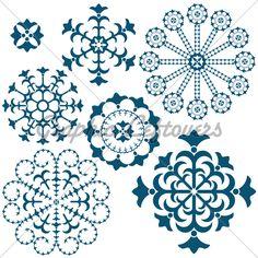 snowflake tattoo designs...