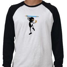 AnimationMentor.com STEWIE Ninja - Men's Raglan Shirts from http://www.zazzle.com/animation+mentor+tshirts