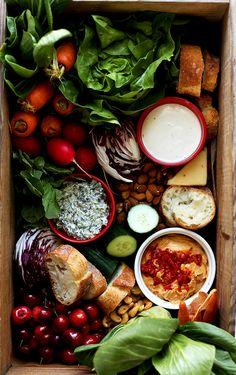 Three Favorite Homemade Veggie Dips