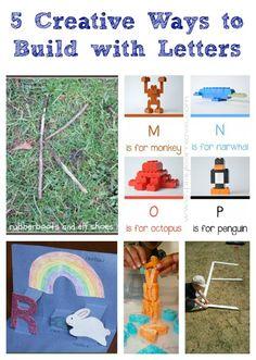 Fun ways to practice your ABC's!