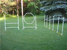 *Dog Agility Equipment Beginner package* Three obstacles for one low price!