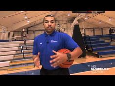 Basketball Drills - Shooting off the Dribble Series at IMG Academy (1 of 8)