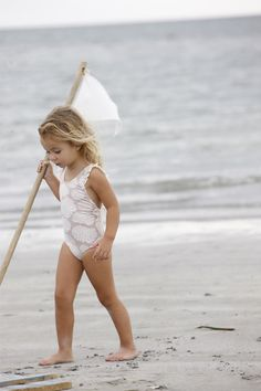 All white suit. #kids #swim #suit #bathing