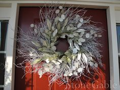 Winter Wreath- A Tutorial