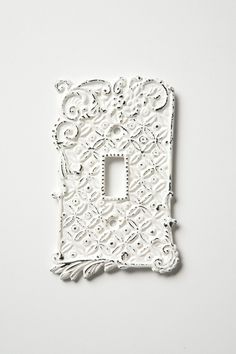 light-switch plate. super pretty and would totally look nice against the two wall colors I am aiming for.