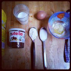 Cake Nutella au micro-onde