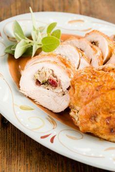 The Deen Bros The Deen Bros. Lighter Stuffed Turkey Breast