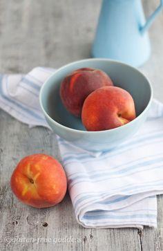 Peach Streusel Coffee Cake GF - amazing