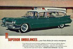 1959 Cadillac Superior Ambulance by That Hartford Guy, via Flickr