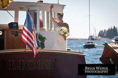 Sheri & Nate: Spruce Point Inn Wedding