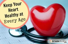 The 7 Best Heart-Healthy Tips for Your Age | via @SparkPeople #health #wellness fit, doctors advice, healthi, sparkpeopl, health well, doctor advic, heart healthy tips