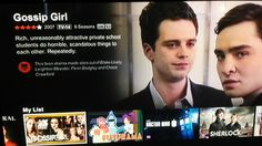 Can we talk about the gossip girl summary on netflix...