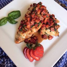 There is nothing more tasty than hand-picked strawberries from your local farm. Wait... yes there is. When you combine it with basil and balsamic! If you have never tried this combination you're pr...