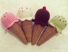crochet baby rattles - Google Search