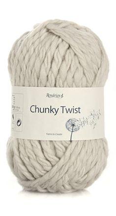 chunky twist  100% Wool