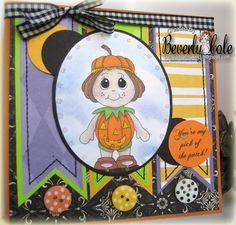 Pumpkin kiddles and sentiment from www.digitaldelightsbyloubyloo.com