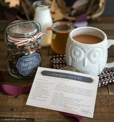 food gifts, printabl recip, recip card, fall recipes, foodi gift