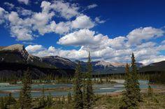 Saskatchewan River Crossing (which is actually in Alberta between Banff and Jasper).