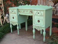 so gorgeous for the bedrom desk/vanity