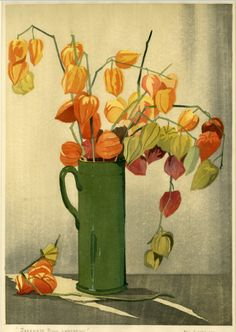 Modern Printmakers: 3 new woodcuts by Eric Slater (Japanese Bush Lantern)