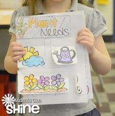 SO Many Spring Activities & Interactive Plants FREEBIE
