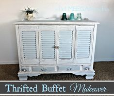 Thrifted Buffet Makeover
