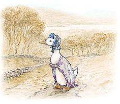 An original image of Jemima Puddleduck
