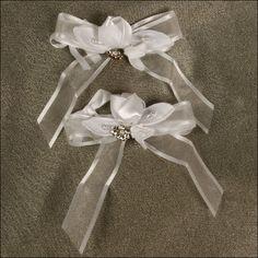 Accent Bows - Romance - White
