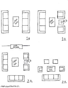 living and family room furniture arrangement