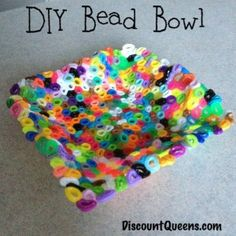 DIY Bead Bowl