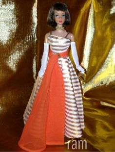 Beautiful Barbie from the collection of Rosalie A. McFarlane.