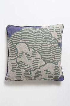 cushion, watercolor pillow
