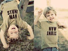 diy {boy's Stunt Man t-shirt}