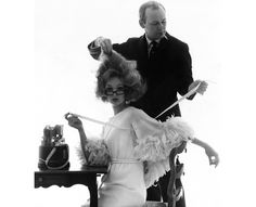 Kenneth Battelle.  He did everyone's hair from Babe Paley to Jackie Kennedy.