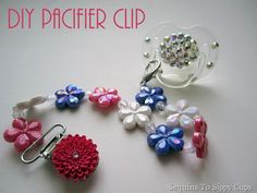 Cute pacifier clip!