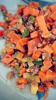 Healthy Sweet Potato Hash : Only 98 Calories